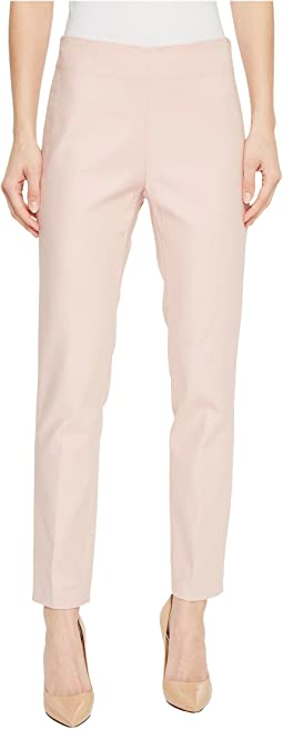 Doubleweave Side Zip Skinny Pants