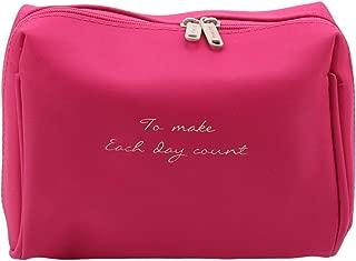 CH Portable Women Makeup Organizer Bag Girls Cosmetic Bag Toiletry Travel Kits Storage Bag Hand Bag (Color1)