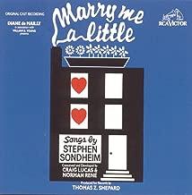 Marry Me a Little (Original Off-Broadway Cast Recording)