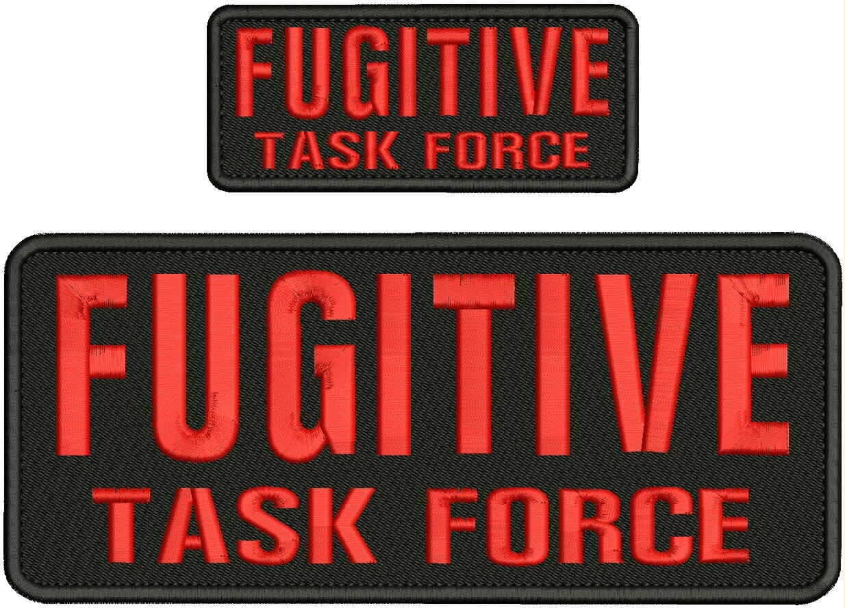 Embroidered Recommendation Patch Dealing full price reduction - Patches for Man Fugitive Force Women Task
