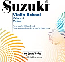Suzuki Violin School, Vol. 6 (Revised)