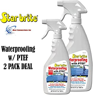 Waterproofing W/ PTEF 22oz Marine Fabric Cleaning Supply StarBrite 81922 2 PACK