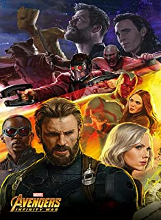 AWDIP Official Maxi Poster Avengers Infinity War Captain America 91.5 x 61 Centimeters Iron Man