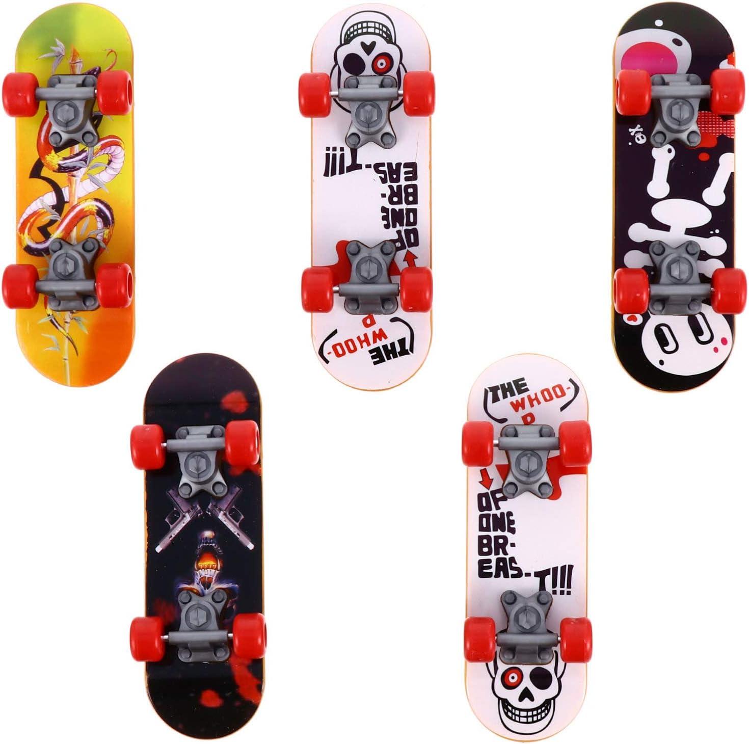 TOYANDONA 5pcs Finger Skateboards Mini Toy Free shipping New mart Fingerboards Fin