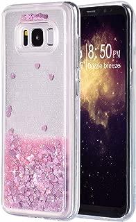 Felfy Compatible avec Coque Galaxy S8 Antichoc Glass Marbre Case,Compatible avec Galaxy S8 Housse Rigide Souple TPU Silicone Edge /& Verre Tremp/é Backcover Anti-Rayures Slim Bumper Etui,Noir Or