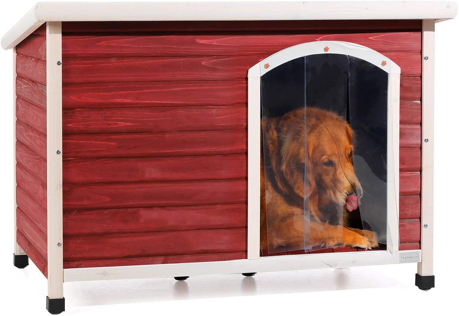 Petsfit Wooden 2021 spring and summer new Dog Houses for Ranking TOP1 Large and Small Medium