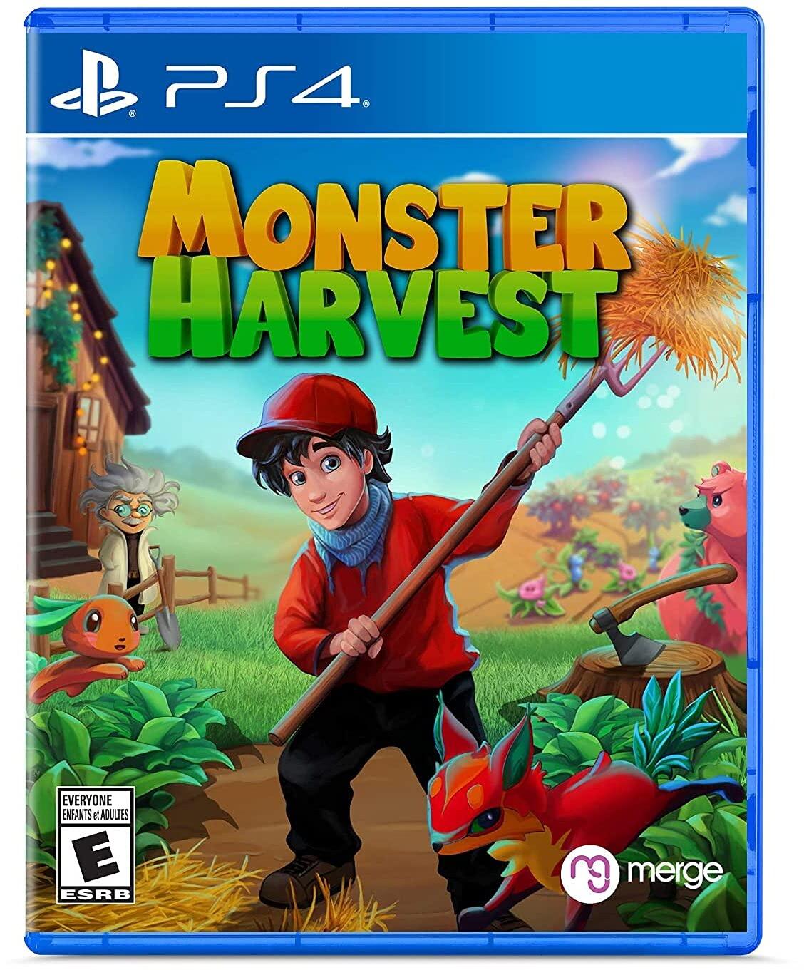 Poster. Monster Harvest