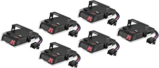 CURT 51122 Discovery Electric Trailer Brake Controllers, Time-Based, 6-Pack