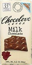 product image for Chocolove Xoxox Premium Chocolate Bar - Milk Chocolate - Pure - 3.2 oz Bars - Case of 12 - Kosher