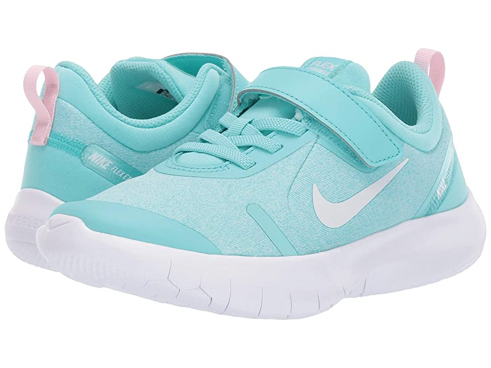 Nike Kids Flex Experience RN 8 (Little Kid) (Light Aqua/White/Pink Foam/Teal Tint) Girls Shoes