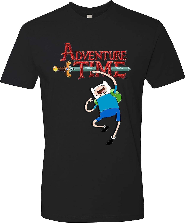 Adventure Time T-Shirt Cartoon TV Unis Adult sold out Financial sales sale Show Unisex
