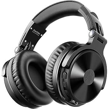OneOdio Bluetooth Kopfhörer Over Ear [Bis zu 80 Stdn & BT 5.0] Geschlossene Musik Headphones Kabellos mit 50mm Treiber, HiFi Stereo Faltbares Bass Headset mit Mikrofon für iPhone/iPad/Handy/PC