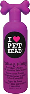 Pet Head Feeling Flaky Dry and Sensitive Skin Shampoo - Strawberry Yogurt