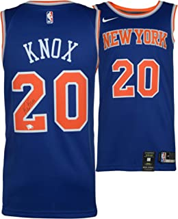 6d726ba1f Kevin Knox New York Knicks Autographed Nike Swingman Blue Jersey - Fanatics  Authentic Certified - Autographed