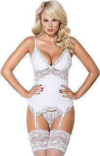 cc4d1a7fe5822 Amazon.fr : guepiere blanche : Vêtements