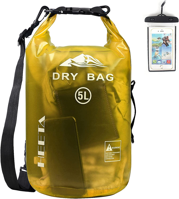 HEETA Finally resale start Waterproof Dry Bag for Miami Mall Roll Top Lightweight Men Women