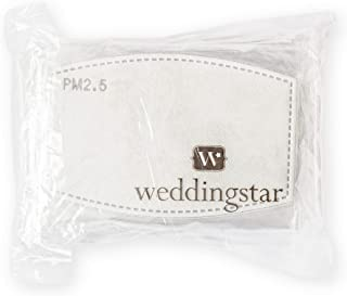 Weddingstar PM 2.5 Protective Mask Filters 5-Layer Carbon Technology - 20 Pack