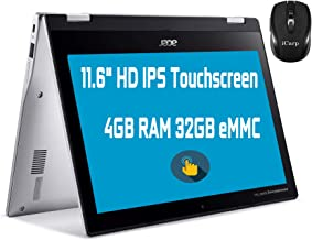 "Flagship Acer Spin 311 2 in 1 Chromebook Laptop 11.6"" HD IPS Touchscreen MediaTek MT8183 Octa-Core Processor 4GB RAM 32GB ..."