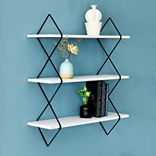 WELLAND Mellisa 3-Tier Floating Display Wall Mount Hanging Shelves, 31 1/2 Inches Wide