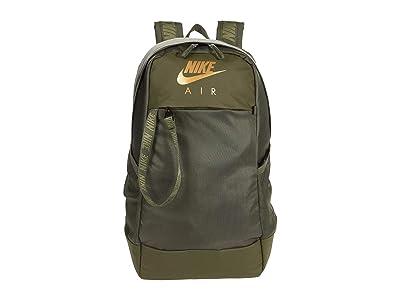 Nike Air Essentials Backpack (Cargo Khaki/Cargo Khaki/Metallic Gold) Backpack Bags