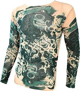 タトゥー スポーツTシャツ タトゥーシャツ サイクリング フィットネス 和柄 タトゥーT 入れ墨 和彫り