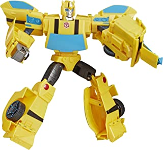 "TRANSFORMERS 11"" Bumblebee Action Figure - Ultimate Class- Cyberverse - Sting Shot - Kids Toys - Ages 6+"