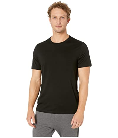 Icebreaker Tech Lite Short Sleeve Crewe (Black 5) Men