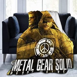 MillicentCob Metal Gear Solid Peace Walker Ultra-Soft Micro Fleece Blanket Soft and Warm Throw Blanket Digital Printed Blanket (50