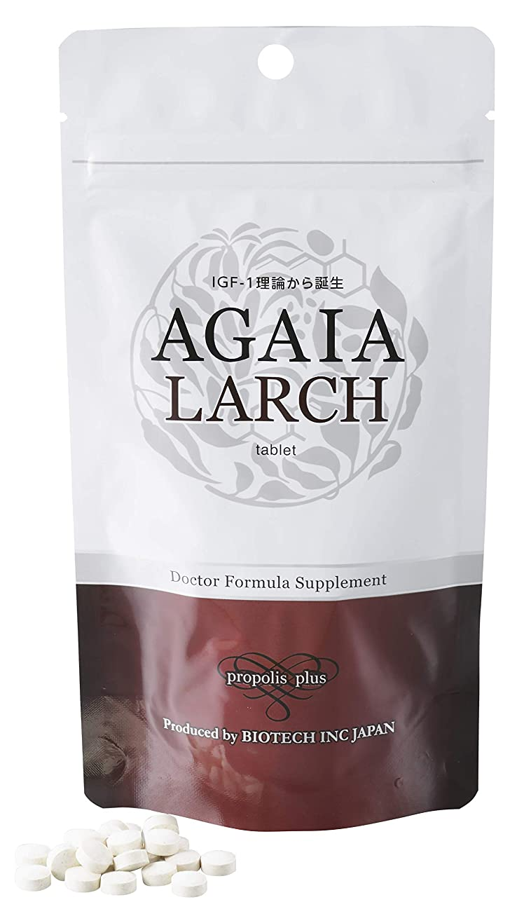 なぜ気分かみそり育毛専門サロン「バイオテック」AGAIA(アガイア) ラーシュタブレット 1袋180粒(約1ヶ月分)