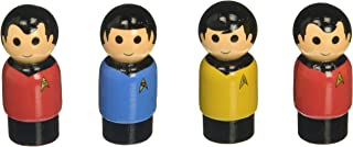Bif Bang Pow! BBP16900AA2AMZ Star Trek: The Original Series Pin Mate Wooden Figures(Set 4)