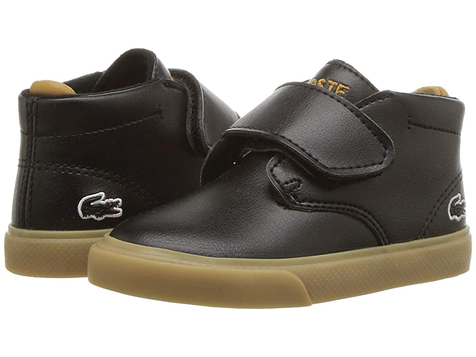 Lacoste Kids Esparre Chukka (Toddler/Little Kid) (Black/Dark Tan) Kid
