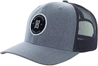 BEX Men's Round Patch Baseball Cap Grey One Size
