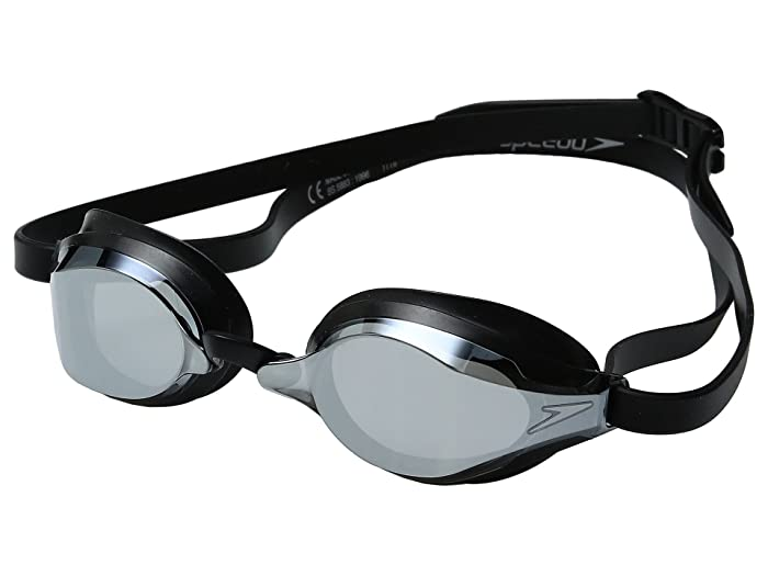 Speedo Speed Socket 2.0 Mirrored (Black/Silver) Water Goggles
