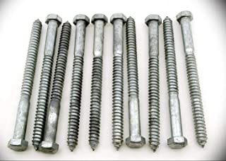 5//16x2-1//2 Hex Lag Screws The best fasteners 100 Plain