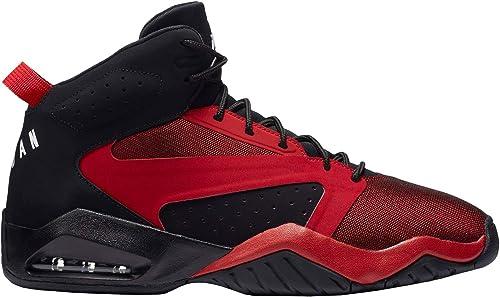Jordan Homme Lift Off Textile Synthetic noir Gym rouge Formateurs 42.5 EU