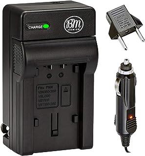 VW-VBK180, VW-VBK360, VBT190, VBT380 Battery Charger for Panasonic HC-V10, HC-V100, HC-V110, HC-V130, HC-V160, HC-V180, H...