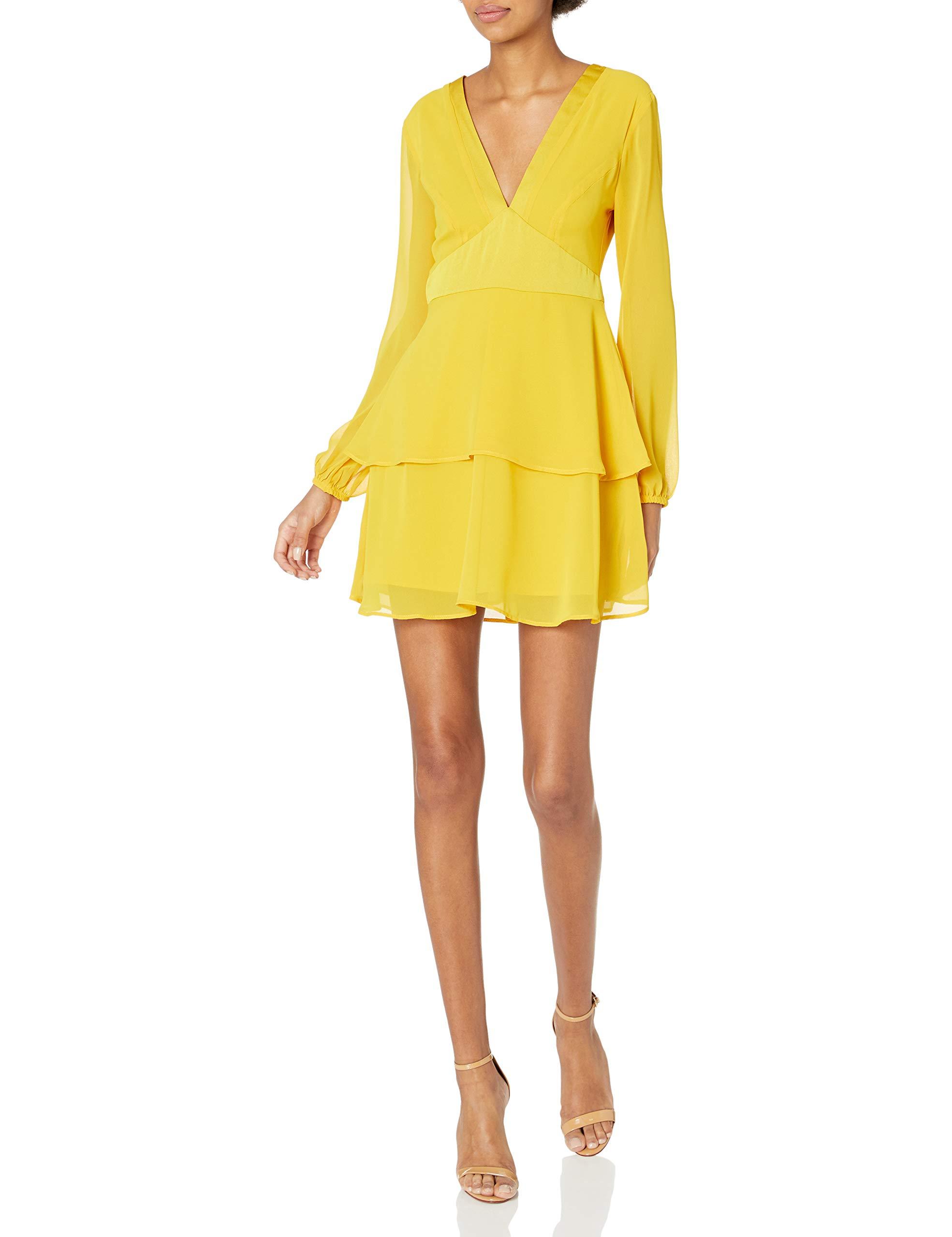 Available at Amazon: BCBGeneration Women's Tiered Ruffle Mini Dress