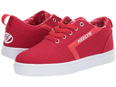 Heelys GR8 Pro (Little Kid/Big Kid) (Red/White) Boys Shoes