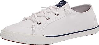 Sperry womens Lounge Ltt Sneaker, White, 5 US