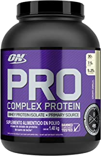Optimum Nutriton Pro Complex, Whey Protein Powder Blend, Creamy Vanilla, 3.31 Pounds (Packaging May Vary)