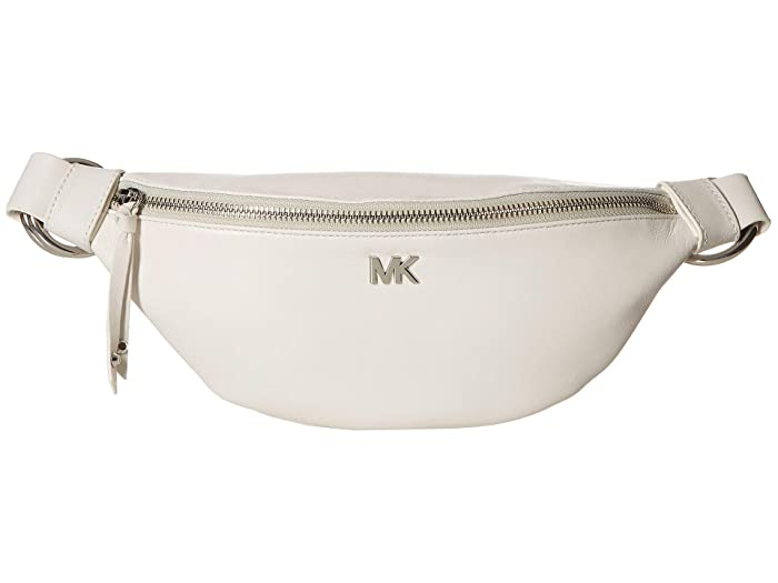 MICHAEL Michael Kors Sport Belt Bag (Black/White) Women