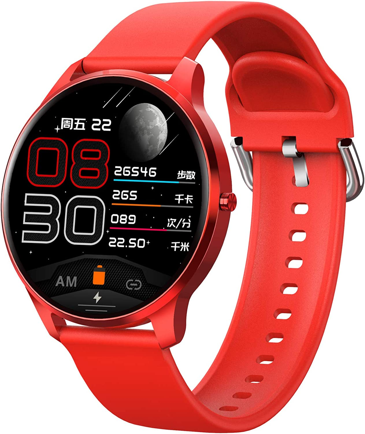 Fort Worth Mall Bluetooth Music Call Smart Watch Touch Health Year-end gift Screen Full