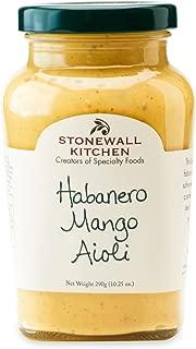 Stonewall Kitchen Habanero Mango Aioli, 10.25 Ounce