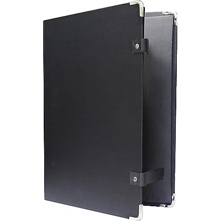 Cardinal Poly Portfolio w//Brads 1 per Box, 11 x 17 Black 94910