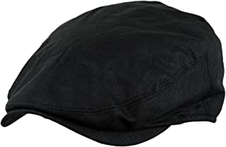 Men's Linen Gatsby Newsboy Golf Flat Ivy Hat