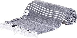 comprar comparacion AYSIBOO 180x90cm Turca Toalla de Hammam Hecho de 100% Algodon I Turkish Sauna Towel en Muchos Colores I Toallas Pestemal, ...