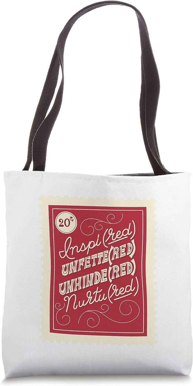 (RED) Originals COLLAB (RED) x Liz Kohler Brown: Stamp Tote Bag