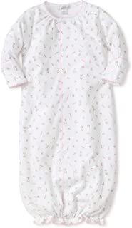 Baby Girls Garden Roses Print Convertible Gown