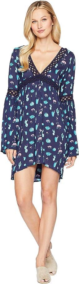 2255 Cactus Print Dress