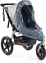 BOB Weather Shield for Single Swivel Wheel Strollers, Grey